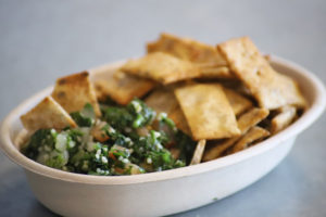 Tabbouleh and Pita Chips
